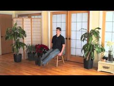 Mindful Chair Yoga: A Complete Beginner's Practice (40 minutes) - YouTube
