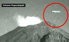 Giants UFOs Return: Angelic UFO To Sun And Cigar UFO To Mexican Volcano
