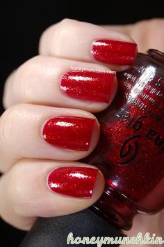 China Glaze - Ruby Pumps #nailpolish