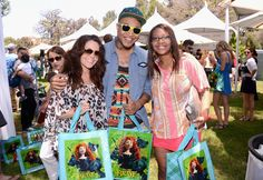 Singer Jamar Rogers and guests at the Elizabeth Glazer Pediatric AIDS Foundation's annual A Time for Heroes Picnic.