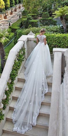 Wonderful Perfect Wedding Dress For The Bride Ideas. Ineffable Perfect Wedding Dress For The Bride Ideas. Long Wedding Dresses, Princess Wedding Dresses, Bridal Dresses, Wedding Gowns, 2017 Wedding, Tulle Wedding, Lace Wedding Dress Ballgown, Wedding Dress Long Train, Wedding Dress Cathedral Train