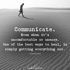 Communicating feelings isn't always easy. But it's usually worth it. One word can save an entire situation sometimes. I'll never get why some choose silence where words can heal all. Words Quotes, Wise Words, Me Quotes, Motivational Quotes, Inspirational Quotes, Sayings, Drake Quotes, Wisdom Quotes, Great Quotes