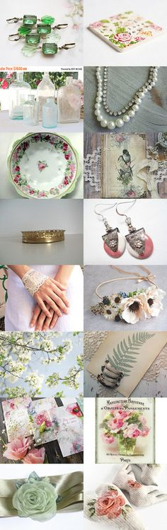 Summer Love by FrenchPaperMoon on Etsy--Pinned+with+TreasuryPin.com