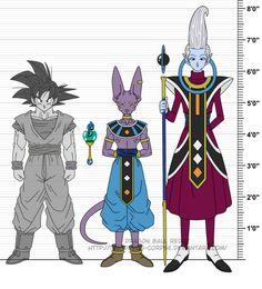 DBR Hakaishin Beerus, Whis and Yogengyo by The-Devils-Corpse.deviantart.com on @DeviantArt