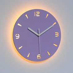 Wall Clock Design 596375175640781288 - Led Wall Clock Modern Design Clocks With Backlight Watch Silent For Home Kitchen Office Cafe Decoration For Wall Source by homeelx Wall Clock Light, Led Wall Clock, Wall Clocks, Record Clock, Diy Clock, Home Office, Kitchen Office, Extra Large Wall Clock, Ideas