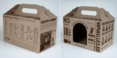 Cutie din carton CO3 Nature imprimata intr-o culoare, cu maner si fereastra. Cutia este folosita pentru a adaposti pisicile si a le crea un loc placut de odihna.