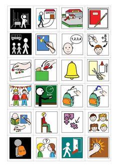 Speech Language Therapy, Speech And Language, Speech Therapy, Autism Activities, Activities For Kids, Classroom Commands, Pecs Communication, Pecs Autism, Visual Aids