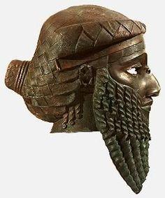 Head of an Akkadian ruler, ca. 2250 BCE