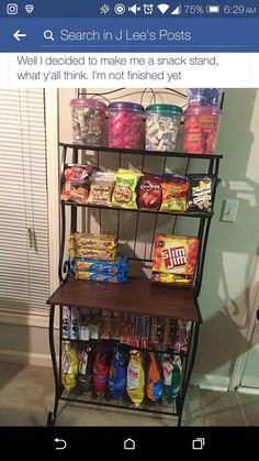 Delicious Junk Food Snacks although Healthy Snack Foods For Diabetics if Snack Food Ideas For Party any Healthy Snack Ideas Food List Sleepover Food, Fun Sleepover Ideas, Snack Station, Snack Bar, At Home Movie Theater, Home Theater Rooms, Junk Food Snacks, Healthy Junk Food, Healthy Snacks