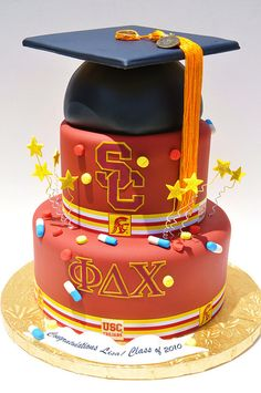 USC Grad cake!!!! 2015 will be here before I know it!