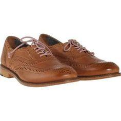 J Shoes Charlie Oxford Tan, Women's