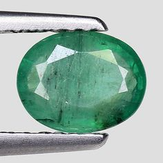 Other Emeralds 164398: 0.71Cts Green Oval Emerald Natural Loose Gemstone See Video -> BUY IT NOW ONLY: $53.25 on eBay!