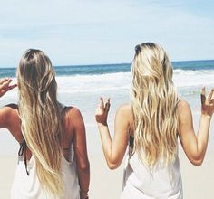 Hairstyles for the beach!