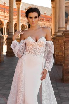 Camillia goes bohemian with billowy off shoulder sleeves