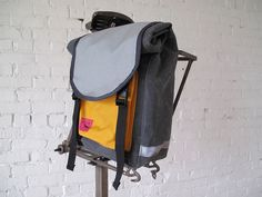 Stock Fog & Poppies Mini Roll Top Panniers by Swift Industries, via Flickr