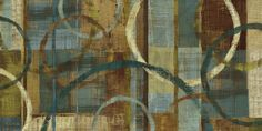 Tranquility Pattern - Tavlor på canvas - Photowall