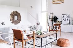 my scandinavian home: Zoe Dent's exotic yet calm oasis in Avalon