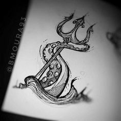 39 Ideas drawing ideas doodles design sketch Best Picture For tattoo designs animals For Yo Forearm Tattoos, Body Art Tattoos, Sleeve Tattoos, Cool Tattoos, Small Tattoos, Tiny Tattoo, Sea Life Tattoos, Ocean Tattoos, Tattoo Sketches