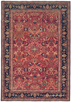 SULTANABAD, West Central Persian 12ft 7in x 17ft 8in Circa 1910