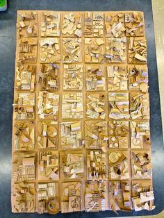 Zilker Elementary Art Class: 4th Grade Recycled Art Group Project