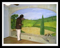 Wandbild6l Wohnzimmerwand