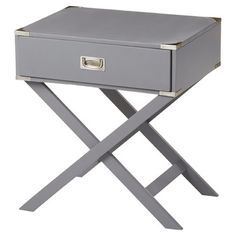 Features:  -X-base table legs.  -French dovetailed drawer construction.  Shape: -Rectangle.  Design: -Table.  Style (Old): -Contemporary.  Base Material: -Wood.  Top Material: -Wood.  Base Type: -X/Cr