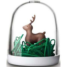 Deer #Paperclips Holder | #SplendidWorld.com | #office #organization