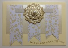Plain and simple handmade birthday card, using scraps- who would have thought!