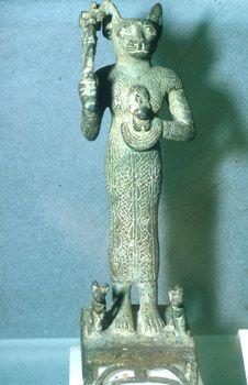 Deusa-Gato eípcia Bastet