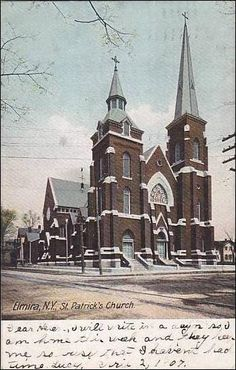 st patricks church elmira new york | views new york unclassified new york elmira st patricks church ...