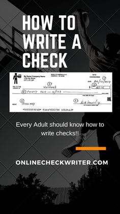 It is recommended to use an inexpensive check writing and printing software to keep all record for future references. That's why i recommend the online check. It saves time and it is efficient too. Order Checks Online, Payroll Checks, Check Mail, Writing Software, Business Checks, Check Printing, Step By Step Instructions, Free Books, Fit