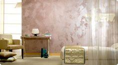Wandgestaltung mit spachteltechnik farbig gruen treppe - Wande kreativ gestalten ...