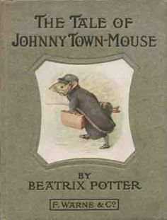 The Tale of Johnny Town-Mouse - First edition cover, December 1918