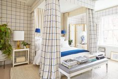 Plaids, Tartans, and Other Suiting Staples Are Trending in the Home | Architectural Digest
