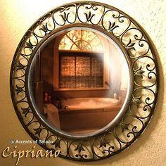 Cipriano Round Mirror