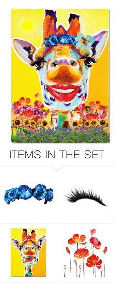 """Flower Child"" by reggiano ❤ liked on Polyvore featuring art and 334"