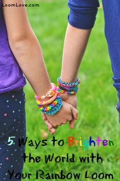 5 Ways to Give Back with Rainbow Loom