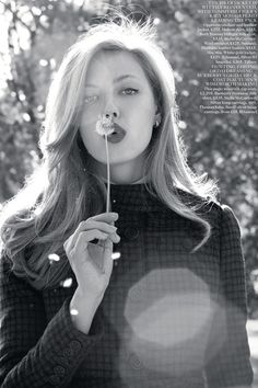 Lindsey Wixson: Daydream Believer - Vogue UK by Terry Richardson, August 2012