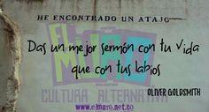 Das un mejor sermón con tu vida que con tus labios  Oliver Goldsmith ¡Feliz Viernes  para todos y todas! Visita www.elmuro.net.co  #FelizViernes #Buenviernes  #OliverGoldsmith #Goldsmith  #ejemplo #vida #sermon #palabra #Labios #FraseDelDía #efemerides #RevistaElMuro #Quoteoftheday #culturaalternativa #Cultura #optimismo #DailyyWisdom #SabiduríaDelDía #Sabiduría #PictureofTheDay #Graffiti #Graffitioftheday  #Instawisdom #instapicture #instaquote