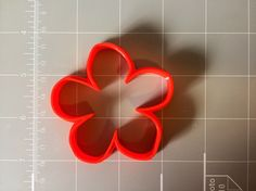 If you have a custom shape or logos in mind please contact us for your unique custom orders. This listing is for Flower Cookie Cutter, great size to make cookies for any fun occasions. The depth are a