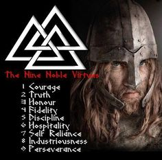 The Troth's Nine Virtues | Do you have spiritual/religious beliefs?