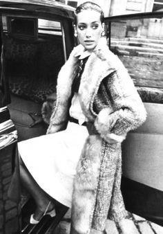 Marisa Berenson for Paris Vogue,ca 1967.Photo Arnaud de Rosnay.Image by © Condé Nast Archive/Corbis