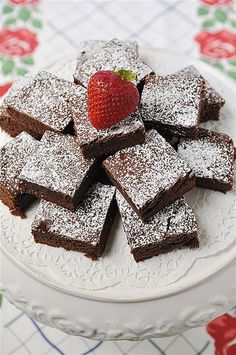 Brownies-huge recipe for a crowd, bake in a jelly roll pan