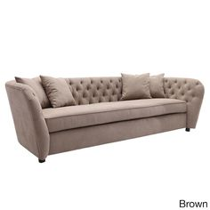 Armen Living Rhianna Transitional Fabric Sofa
