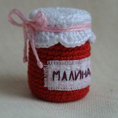 Варенько. Скоро. #toylesson #amigurumi #crochet #jam #weamiguru #амигуруми #вяжутнетолькобабушки #варенье #малина