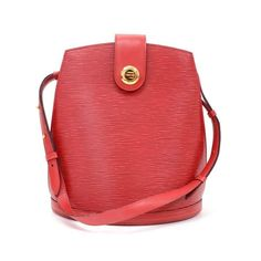 Buy Vintage Louis Vuitton Cluny Red Epi Leather Shoulder Bag £470.00, Second Hand & Vintage Louis Vuitton Vintage Collection Shoulder Bags for Sale, 100% Authenticity Guaranteed, Worldwide Shipping