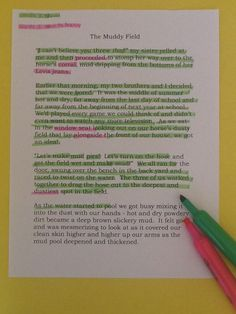 Tip: When students read a text, give them 2 different color highlighters: words you know in one color and words you need to learn in the other color.  As students read, they highlight the appropriate words.  The teacher can assess the level of difficulty for students by checking to see what they have highlighted.  Variations & Extensions - Direct students to copy down the words they do not know on a list.  These then become words that they need to define in their personal dictionary or…