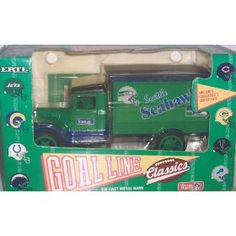 Seattle Seahawks 1993 Ertl Goalline Classics NFL Diecast Truck Bank Collectible by NFL  $37.79