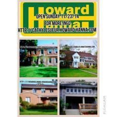 SUNDAY 11/23/14 OPEN HOUSES *