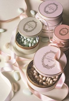 Laduree Dragées - When I went to Paris, I bought some of these sweet treats. They are wonderful. Much better than tic-tacs.
